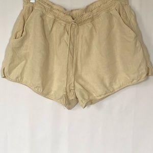 Calypso St. Barth 100% linen shorts size small
